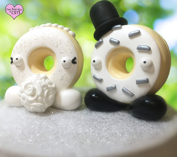 Custom Donut Wedding Cake Toppers The Wedding Shop