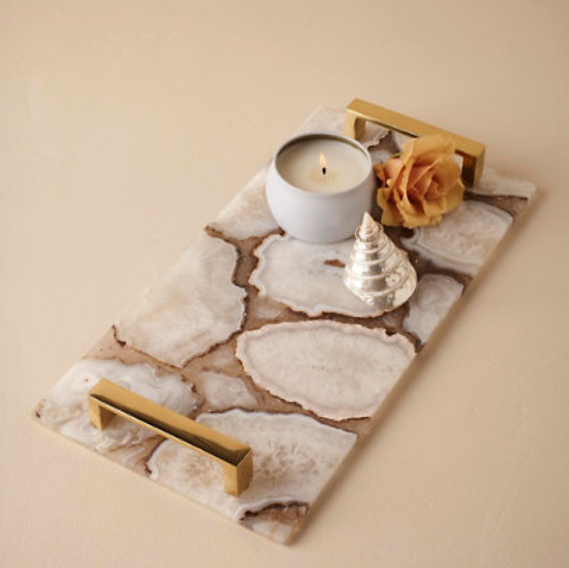 agate cheese tray